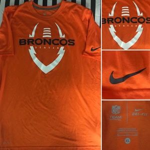 Denver Broncos Nike NFL Team Dri-Fit Shirt